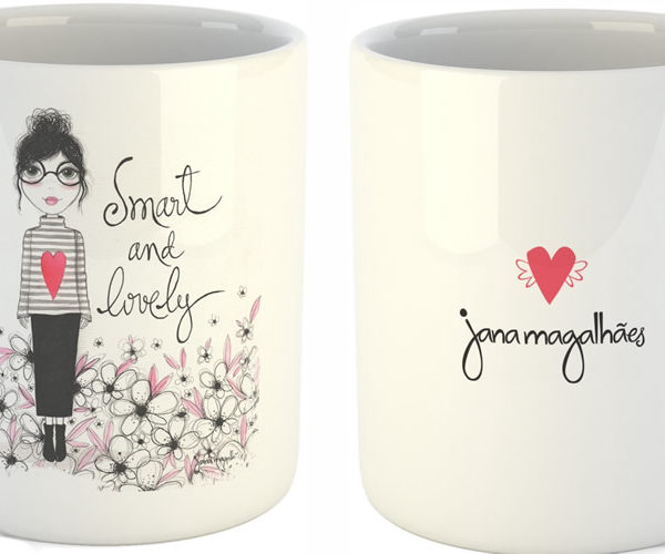 Caneca Smart and lovely